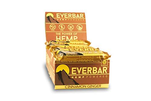 Ever Bar, Hemp Powered Cinnamon Ginger Box, 2.1 Ounce, 16 Count