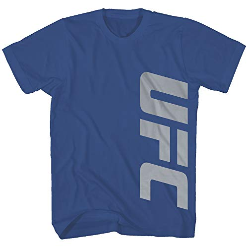 UFC Side Control Ultimate Fighting Championship Logo MMA Mixed Martial Arts Classic Adult Men's T-Shirt Tee (Royal, Small)