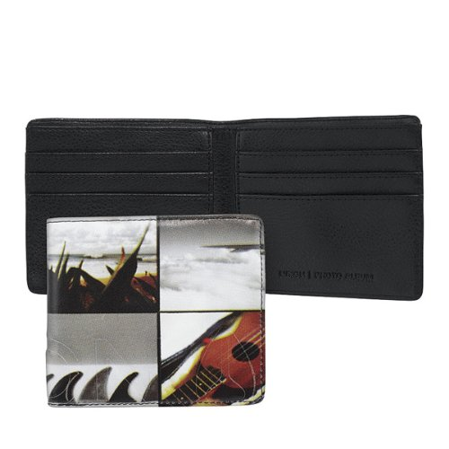 Nixon Spring 13 Photo Album Bi-fold Coin Wallet Hawaiiana