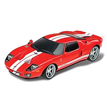 Amazon.com : FORD GT RED REMOTE CONTROL CAR RC CARS 1/18 ...