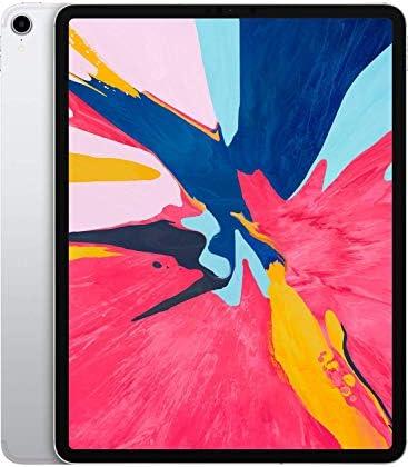 Apple iPad Pro third Gen (12.9-inch, Wi-Fi + Cellular, 256GB) - Silver (Renewed)