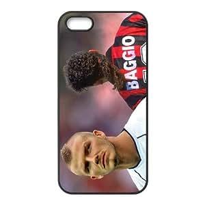 iPhone 5,5S Protective Phone Roberto Baggio Ronaldo ONE1231316