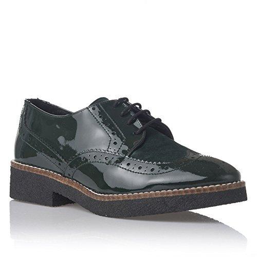 Laura Moretti Zapatos de Cordones Negro EU 40 Zm0PVwj