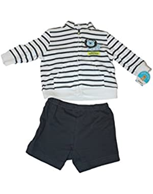Little Boy's Size 6-9 Months Jacket & Sweats