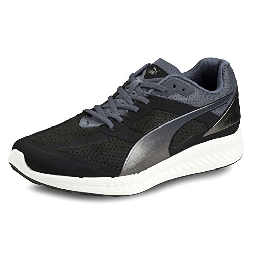 Ignite blanc Puma de Homme Course pour respirant noir Baskets Sport Chaussures dentelle jusqu'en x7wFqT47