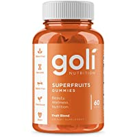 SUPERFRUITS Vitamin Gummy by Goli Nutrition - 60 ct - with Collagen-Enhancing Ingredients. Radiate. Rejuvenate. Refresh…