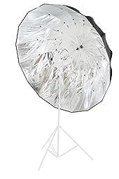 Lastolite LL LU7908F Mega Umbrella 61-Inch (157cm) Silver Parabolic Cover (Silver)