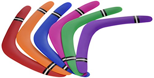 16'' Boomerang - Assorted Colors (package of 12) by Ihiggy