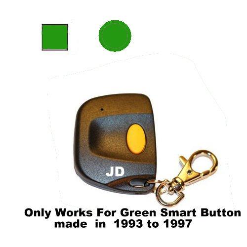 Sears Garage Door Opener Mini Remote Control Work With Green Smart Button