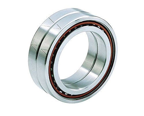 Image of Angular Contact Bearings Barden Bearings 113HEDUL Angular Contact Pair Ball Bearing, Spindle, Sealed, Light Preload, Contact Angle 25 Degree, Bore 65 mm, 100 mm OD (Pack of 2)