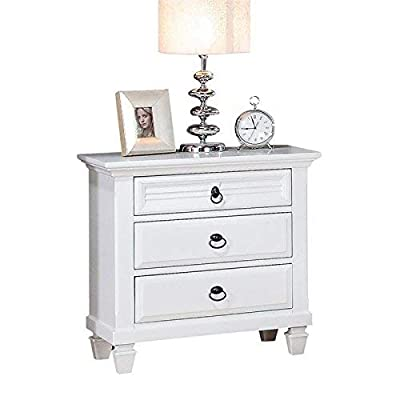 Acme Furniture Merivale 3 Drawer Nightstand by Acme Furniture Industry