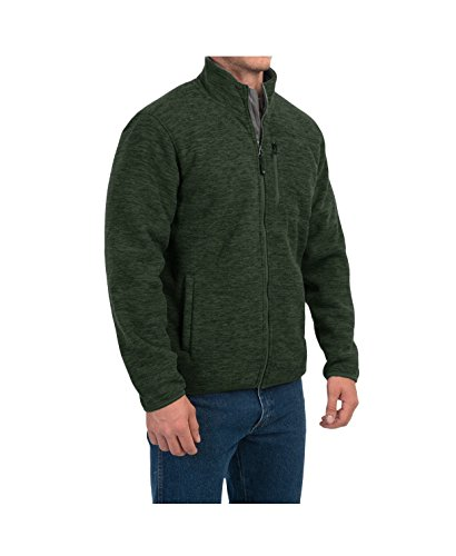 Sherpa Lined Fleece Jacket (Garden Green, X-Large) (Costco Wholesale)
