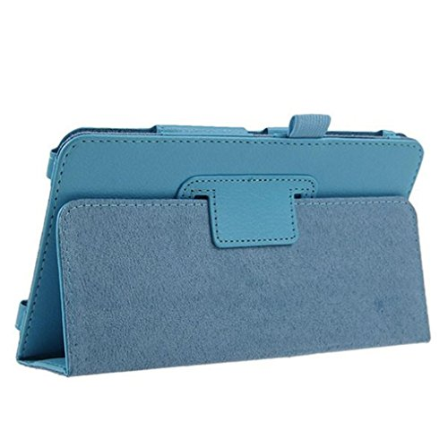 "Price comparison product image TOOPOOT® Leather Stand Cover For Samsung Galaxy Tab 4 7"" Tablet SM-T230 SM-T231 (Blue)"