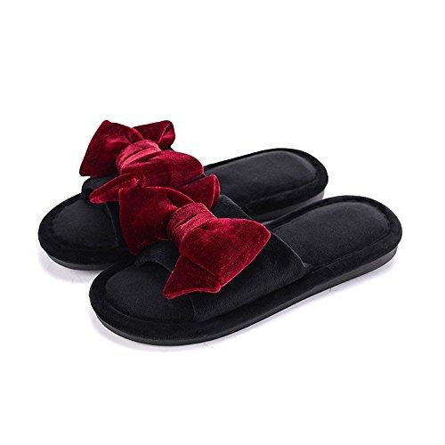 Pantoufles Shoes Adorab Couleur Sandales Quatre Unie Saisons Maison Chaussures antid Chausson 1t1wU