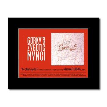 Music Ad World GORKYS ZYGOTIC MYNCI - Gorky 5 Mini Poster - 21x13.5cm