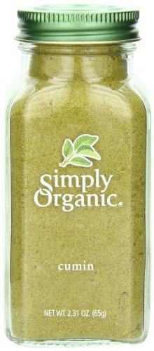 Simply Organic Cumin Seed Ground Certified Organic, 2.31-Ounce - Cumin Powder Seed