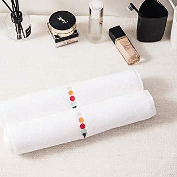 WLLLO Toalla de Bordado de algodón Puro, paño Suave, algodón Puro, Hilo de algodón Puro, Toalla Absorbente, Toalla de baño, 70X140Cm B: Amazon.es: Hogar