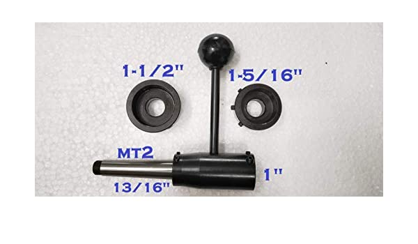 """1-1//2 1/"""" New Lathe Tailstock Die Holder Set Floating Type MT3 //13//16/"""" 1-5//16/"""""""