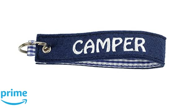 happyROSS Camper - Llavero de Fieltro, Azul: Amazon.es ...
