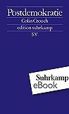 Postdemokratie: 2540 (edition suhrkamp)