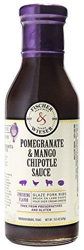 Fischer & Wieser Pomegranate & Mango Chipotle Sauce, 15.75 Ounce (Pack of ()