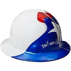 fibre-metal por honeywelll sombrero de seguridad de ala
