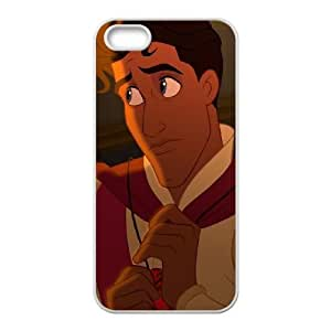 iPhone 4 4s Cell Phone Case White Disney The Princess and the Frog Character Prince Naveen Ywuto