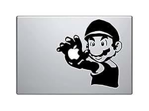Mario Palm Apple MacBook Pro Vinyl Decal sticker for Apple 17 inch