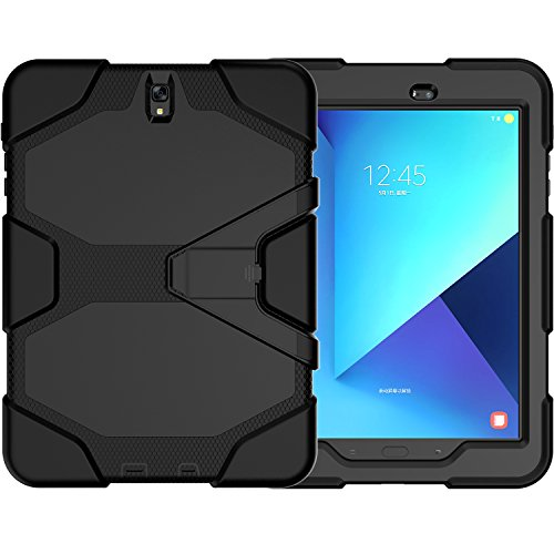 Samsung-Galaxy-Tab-S3-97-CaseSM-T820Slim-Heavy-Duty-Shockproof-Rugged-Case-High-Impact-Resistant-Defender-Full-Body-Protective-Cover