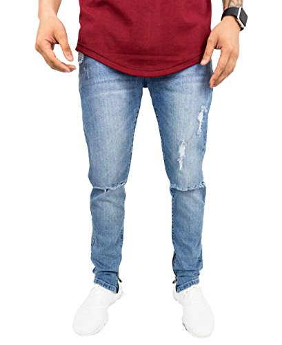 Zipper Men Jeans - 4