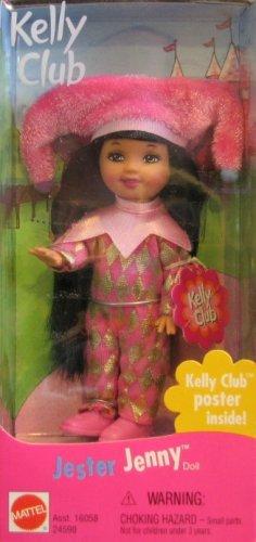 Kelly Doll Fashion - Mattel Barbie Jester Jenny Doll Kelly Club (1999 from Canada)