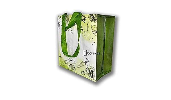 BOLSA RAFIA 36X38 CON DOBLE ASA, 100 UNIDADES: Amazon.es: Hogar