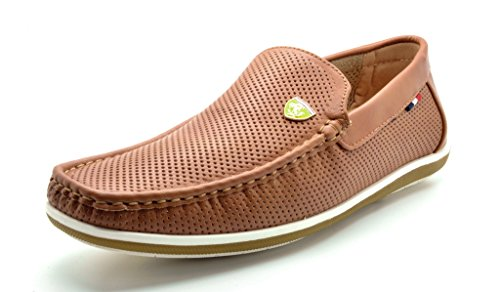 Bruno+MARC+MODA+ITALY+BUSH-02+Men%27s+Breathable+Perforated+Casual+Slip+On+Loafers+Driving+Moccasin+Shoes+TAN+SIZE+10