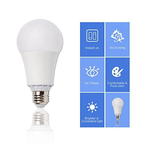 17w 150w equivalent 4 pack a21 led light bulb 2155. Black Bedroom Furniture Sets. Home Design Ideas