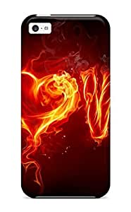 For Iphone 5c Protector Case Love Phone Cover