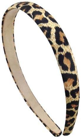 41-309 - Cerchietto bombato cm 1,5 tessuto maculato - Cerchietti per  capelli (Maculato nero): Amazon.it: Salute e cura della persona