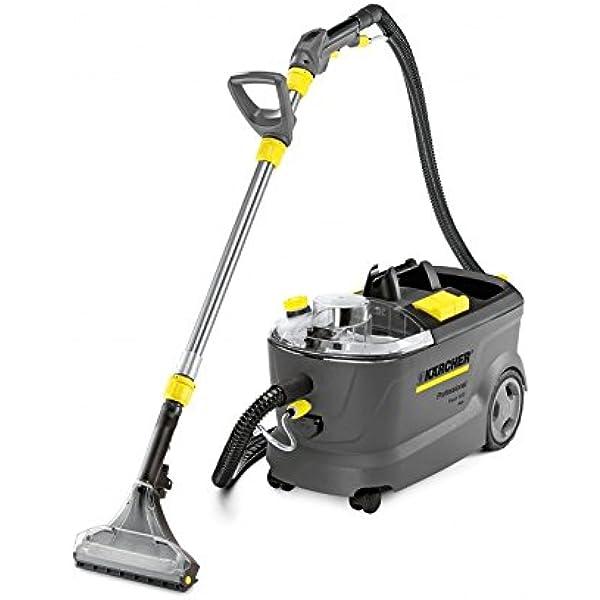 Kärcher Puzzi 10/2 Adv Drum vacuum cleaner 1250W Negro, Gris - Aspiradora (Drum vacuum cleaner, Húmedo, Profesional, Alfombra, Suelo duro, Negro, Gris, Agua): Amazon.es: Hogar