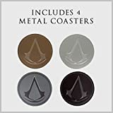 Paladone Assassin's Creed Metal Drink Coasters