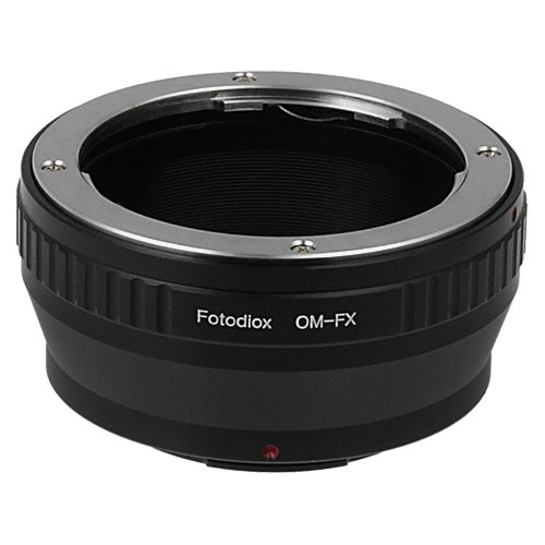 Fotodiox Lens Mount Adapter Compatible with Olympus Zuiko (OM) 35mm SLR Lens on Fuji X-Mount Cameras