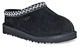 UGG Australia Infants\' Tasman Slippers,Black,9 Child US