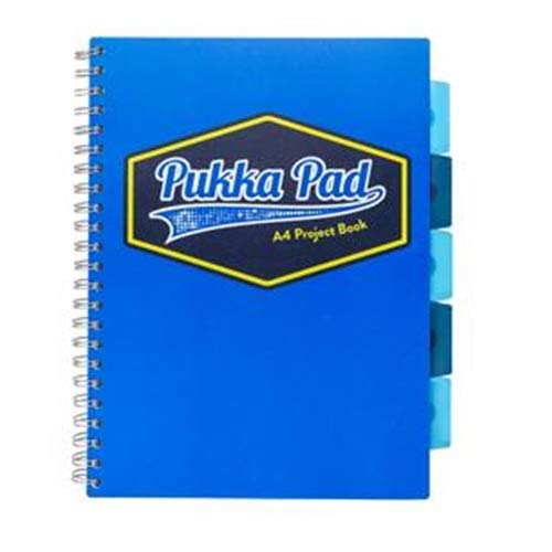 Pukka Pads 7663-PPN A5 Neon Jotta Notepad Pack of 3