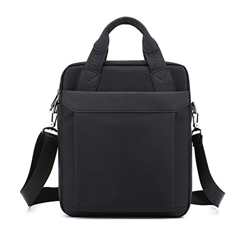 AOLVO Vertical Business Mens Messenger Shoulder Bag for IPad, Tablet and Laptop Up to 12