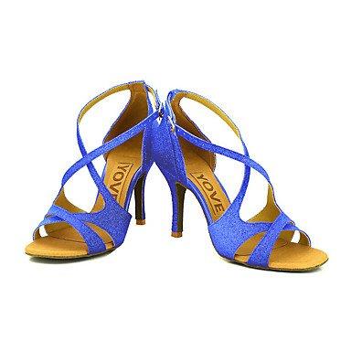 XIAMUO Anpassbare Frauen Beruf Tanz Schuhe, Rot, US 8 / EU 39/UK6/CN 39