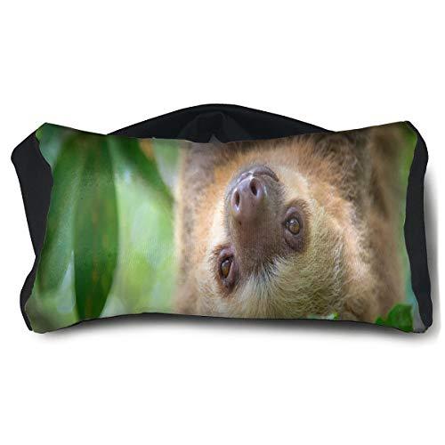 Eye Pillow Cute Sloth (2) Customized Womens Portable Blindfold Sleeping Eye Bag Mask -