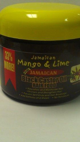 Jamaican Mango & Lime Black Castor Oil Hair Food 6 Oz. by Rasta Locks Twist