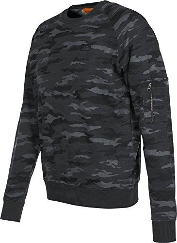 Alpha Industries Herren Oberteile / Pullover X-Fit camouflage L