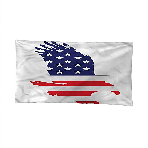 American Flagcool tapestrytapestry for wallBald Eagle Solidarity 60W x 51L Inch