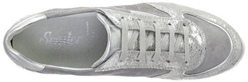 Semler N8115-783, Zapatilla Mujer Gris (perle-chrom-silber)