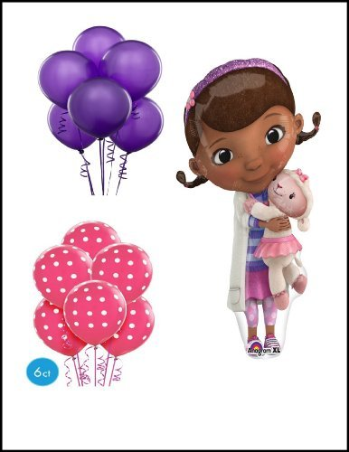 Doc Mcstuffin Ballon Bouquet Party Supply by Qualatex]()