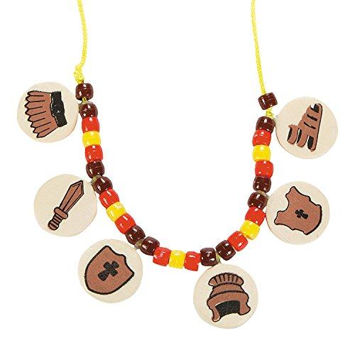 Fun Express Armor of God Necklace Craft -